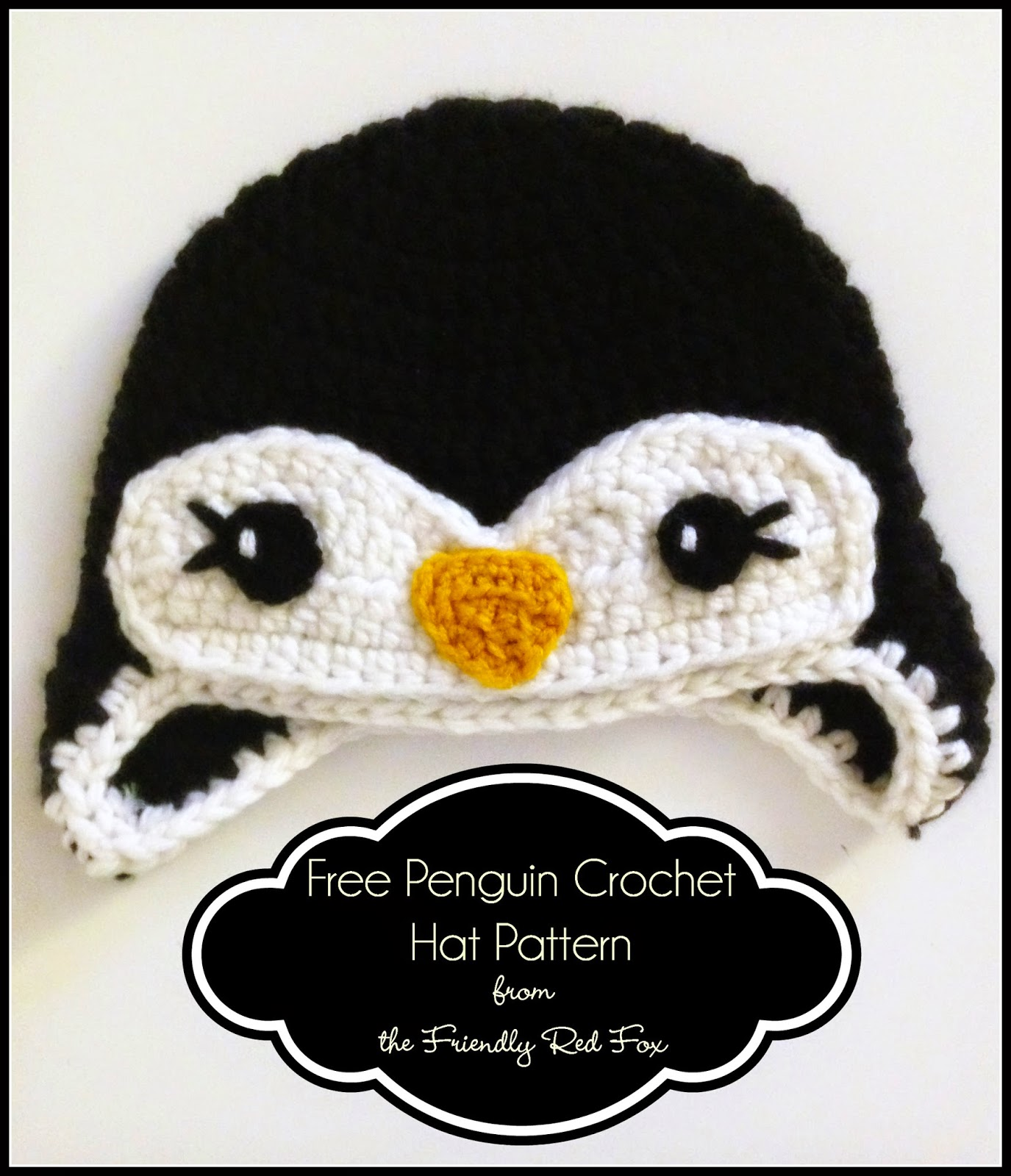 Free Penguin Crochet Hat Pattern