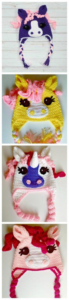 Free Crochet Little Pony Hat Thefriendlyredfox