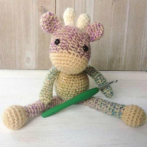 Free Crochet Pattern For The Friendly Mini Giraffe Part 2