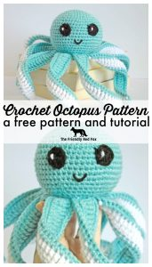 crocheted octopus promo graphic