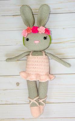 crocheted bunny rabbit