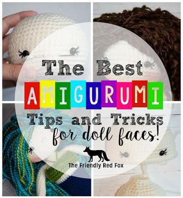 best amigurumi tips post promo graphic