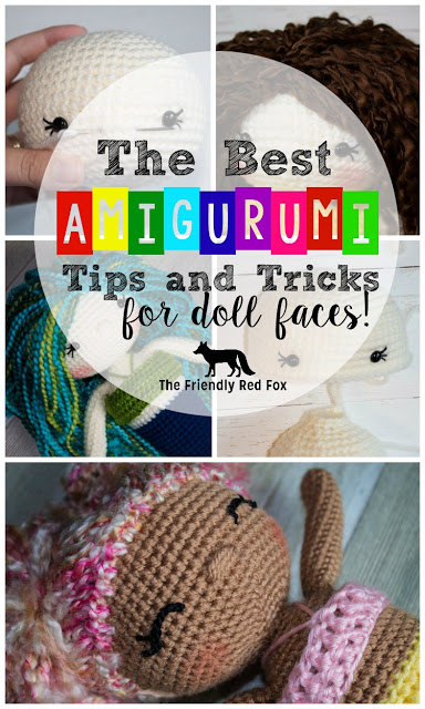 Best Amigurumi Tips and Tricks for Doll Faces