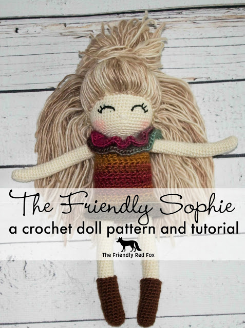 The Friendly Sophie Crochet Doll