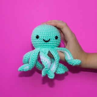 Crochet Pattern for Mini Octopus