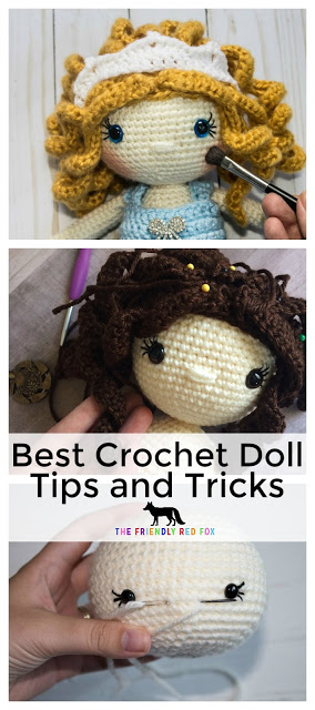 Free Crochet Doll Tutorials
