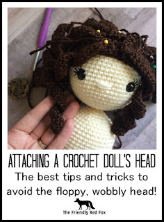 How to Sew on Doll's Heads