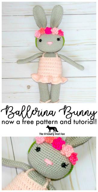 Crochet Ballerina Bunny