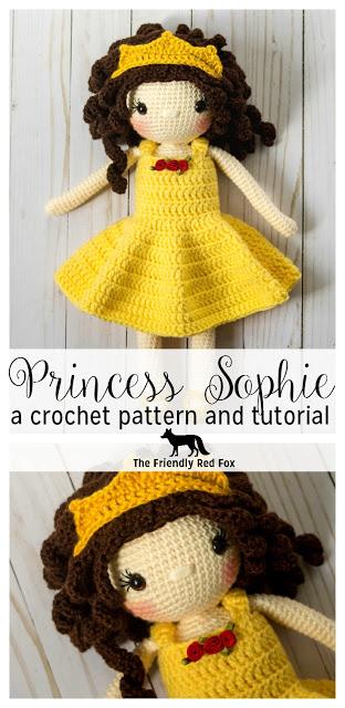 Free Crochet Doll Pattern- The Friendly Sophie