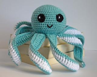 crocheted octopus