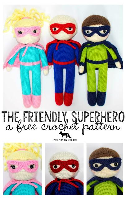 The Friendly Superhero-A Free Crochet Pattern