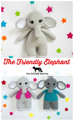 The Friendly Crochet Elephant-Part 3