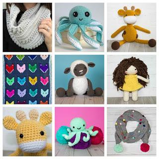 crochet patterns promo graphic