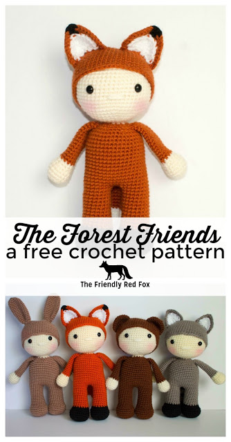Friendly Freddy- a free crochet pattern