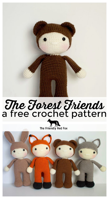 Friendly Barry- a free crochet pattern
