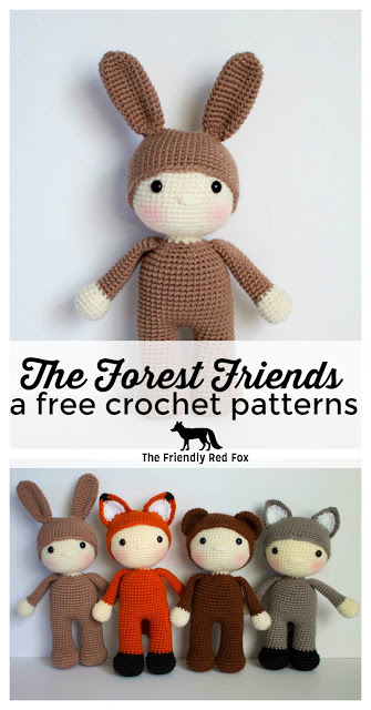 The Friendly Harry- a free crochet pattern