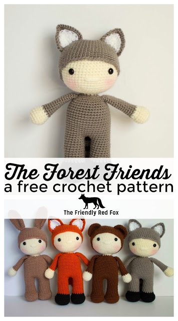 Friendly Rascal-a free crochet pattern