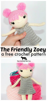 Free Crochet Doll Pattern- The Friendly Zoey