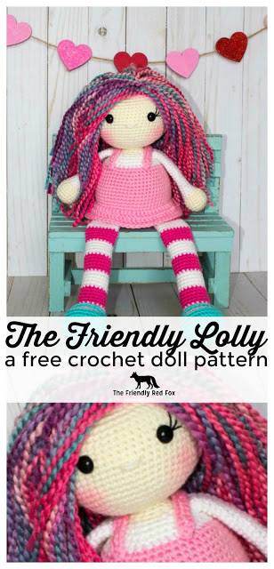 The Friendly Lolly- a Free Crochet Doll Pattern