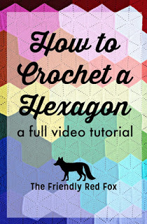 Crochet Hexagon Video Tutorial