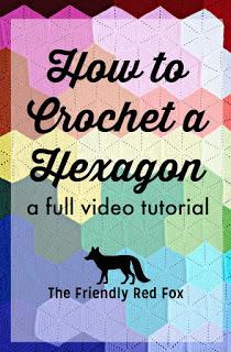 Crochet Hexagon Video Tutorial