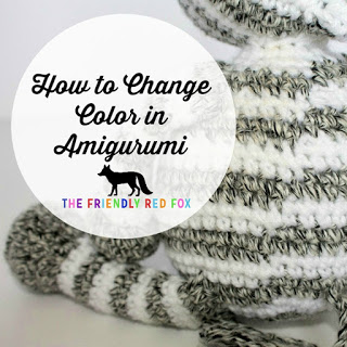 Changing Colors in Amigurumi