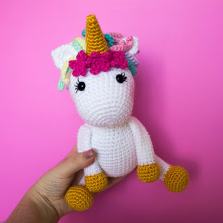 Free Crochet Unicorn Pattern