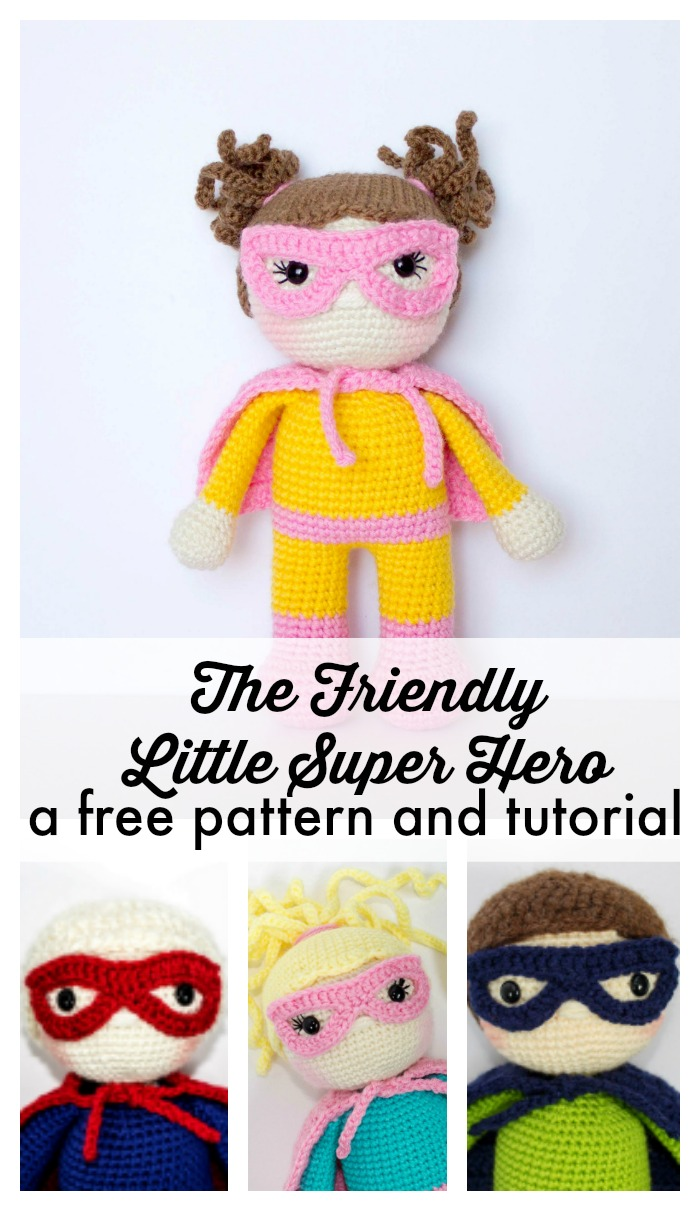 Crochet Super Hero Free Pattern