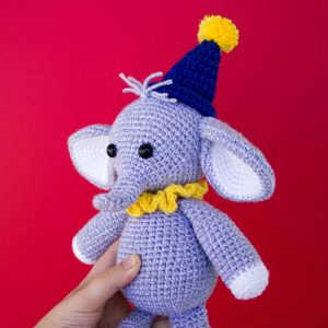 The Sweetest Crochet Elephant Patterns To Try | The WHOot | 300x300