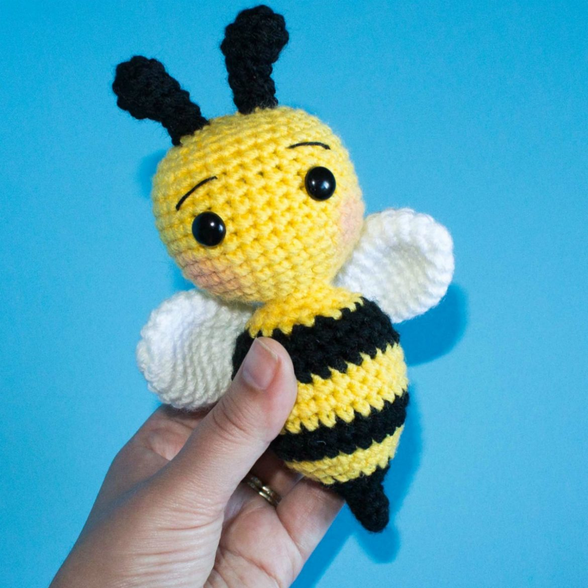 Crochet Bee Pattern
