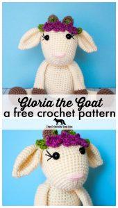 Free Crochet Goat Pattern