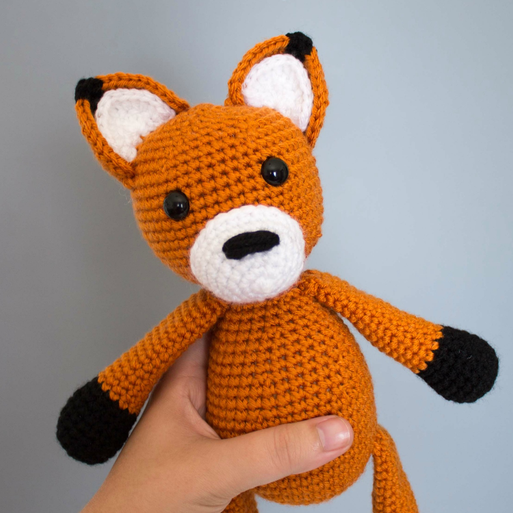 THE SLEEPY FOX – FREE CROCHET PATTERN #FOX #foxcrochet ... | 1718x1718