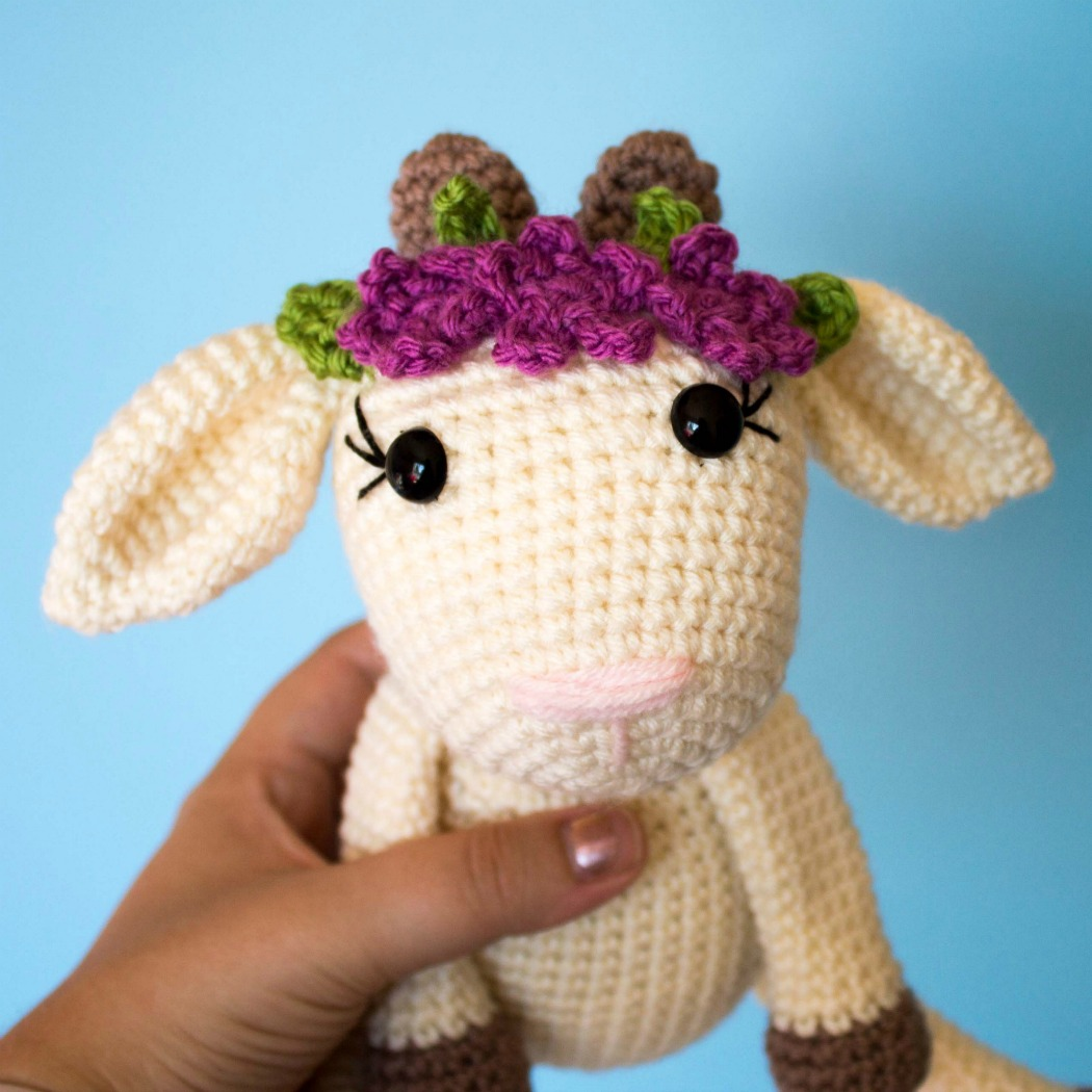 Crochet Goat Pattern- a Free Pattern and Tutorial
