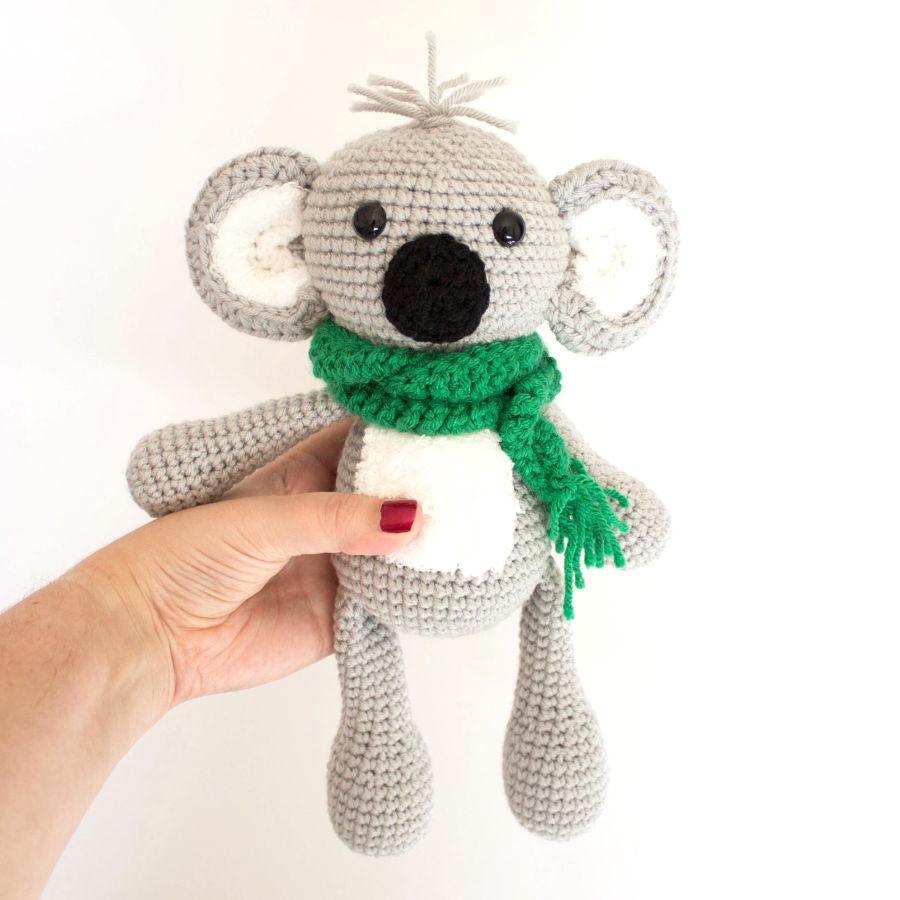 Crochet Koala- a Free Crochet Pattern