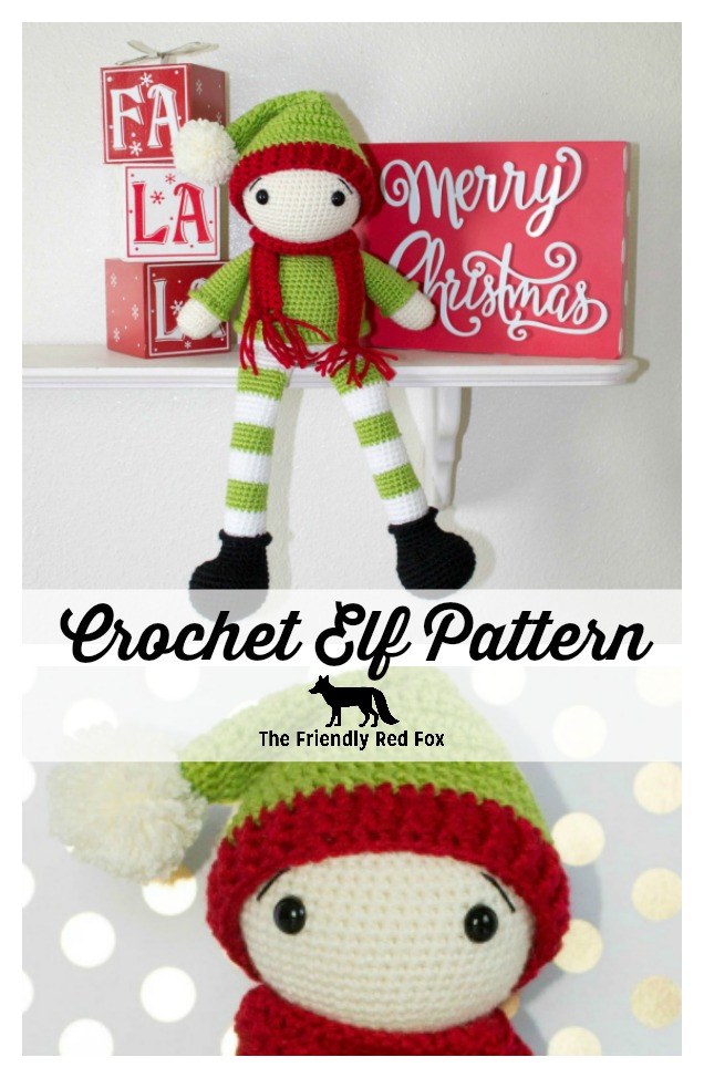 Little Christmas elf | Free amigurumi pattern | lilleliis | 974x636