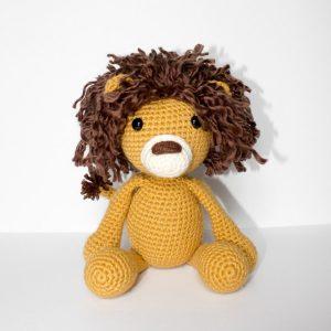 Cuddle Me Lion amigurumi pattern - Amigurumi Today | 300x300