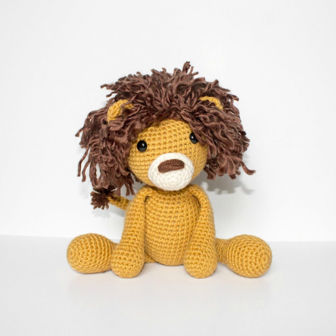 Free Crochet Lion Pattern