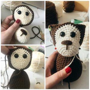 Crochet Monkey steps