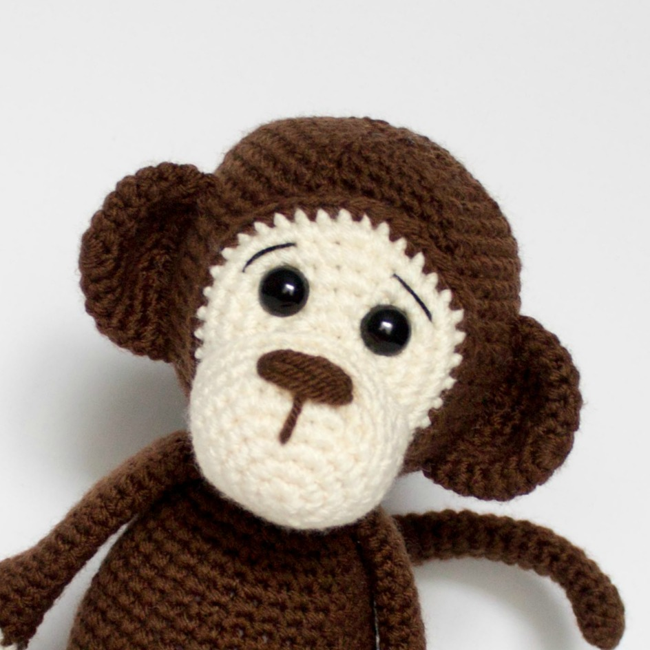 CROCHET PATTERN Happy Monkey Amigurumi Toy | Etsy | 944x944