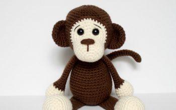 Free Crochet Monkey Hat Pattern - thefriendlyredfox.com 0a66287c4903