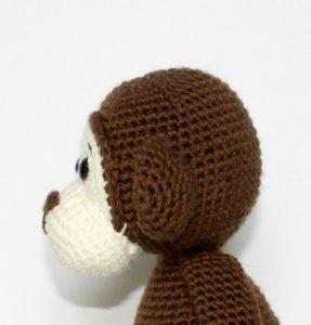 Crochet Monkey head