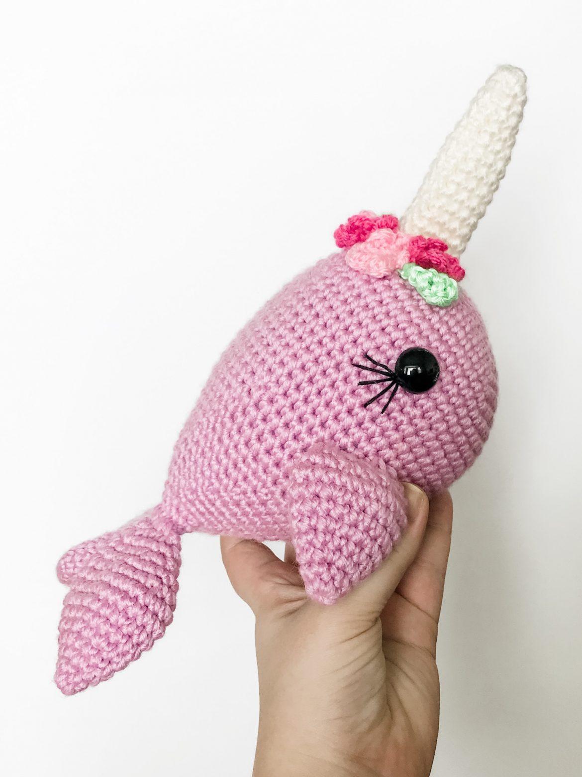 Free Crochet Narwhal Pattern Amigurumi