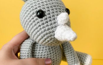 Free Crochet Unicorn Pattern - thefriendlyredfox com