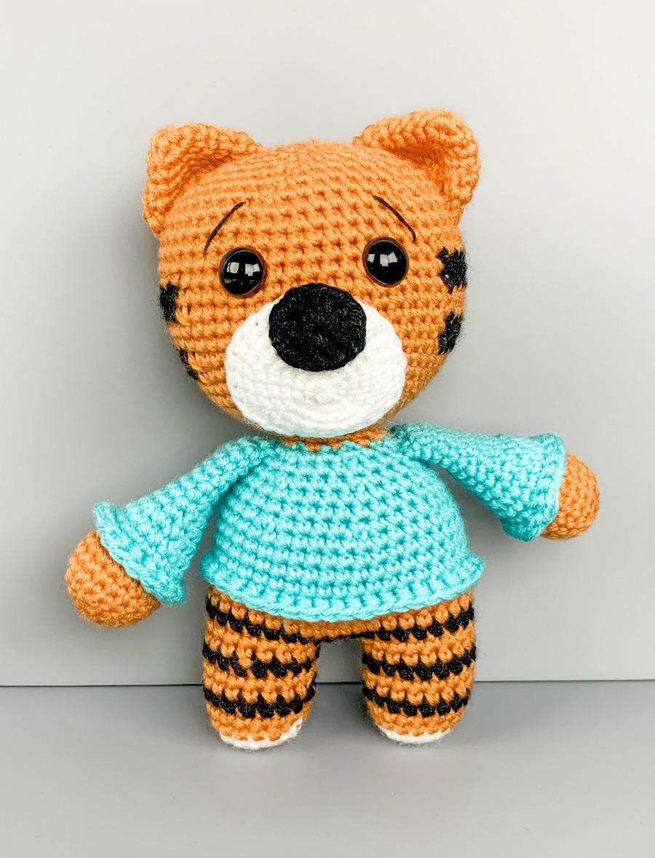 Free Crochet Tiger Amigurumi Pattern